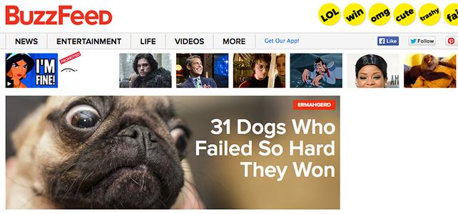 7 coses per aprendre de BuzzFeed