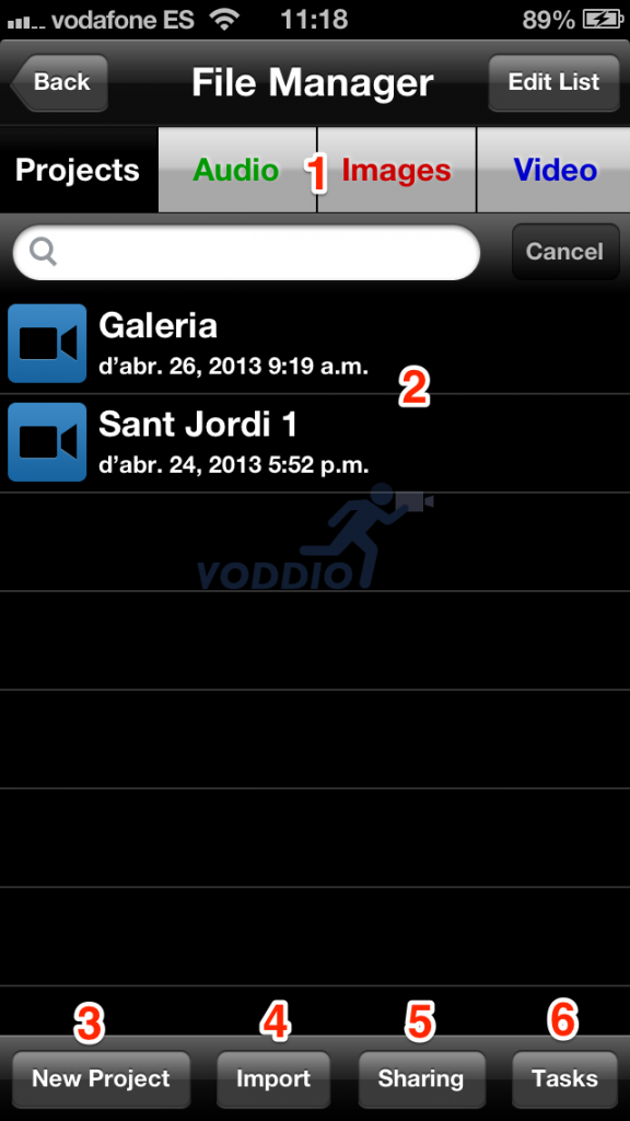 File Manager Voddio